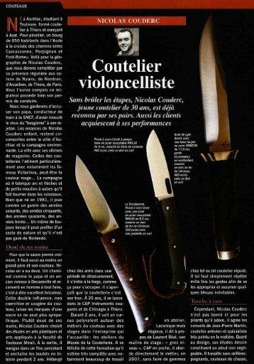 Plaisir chasse - La Grande Coutellerie