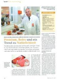 Premium, Retro und ein Trend zu Natürlichkeit - Rosen Eiskrem GmbH