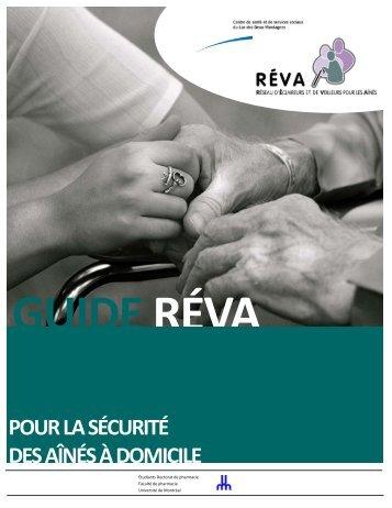 Guide RÉVA pour la sécurité des aînés à domicile - Centre de santé ...