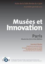 Musées et innovation - ICOM France
