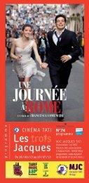 Programme Cinéma - MJC Jacques Tati