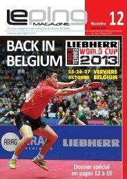 Ping Magazine 12 - Partie Liège du 23 janvier 2013 - Comité ...