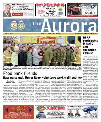 Mar 18 2013 - The Aurora Newspaper
