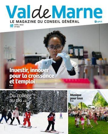 télécharger ValdeMarne en PDF - Conseil général du Val-de-Marne