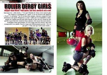Lire l'article complet - Paris RollerGirls