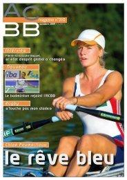 magazine n°310 - ACBB Aviron