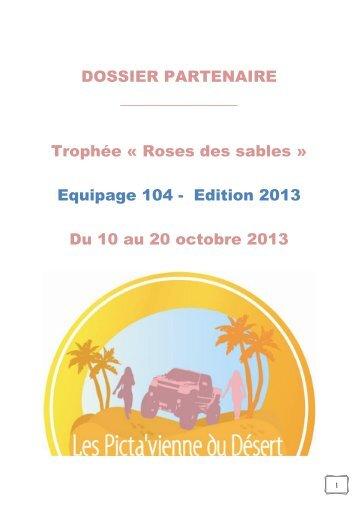 Dossier Partenariat Trophée Roses des Sables 2013 (indice 3)