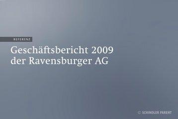 Geschäftsbericht 2009 der Ravensburger AG