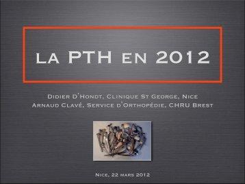 telecharger le document complet pth en cliquant ici - Docteur Didier ...