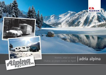 adria alpina - Marsman Caravans & Recreatie