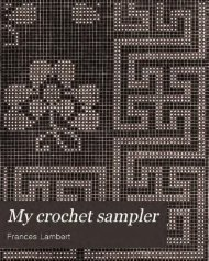 My crochet sampler - QuoterGal