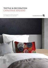 Téléchargez le catalogue 2013 - standard textile