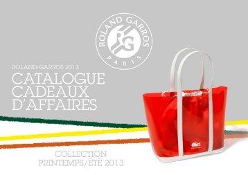 Catalogue PDF - Cadeaux d'affaires