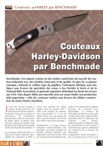 Couteaux Harley-Davidson par Benchmade - Tireurs