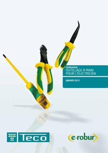 Outillage à main pOur l'électricien - Teconex