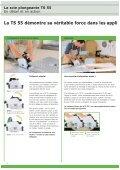 La scie plongeante TS 55 - Page 4