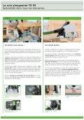 La scie plongeante TS 55 - Page 6