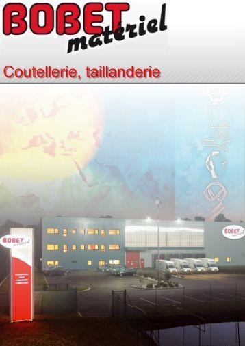 COUTELLERIE, TAILLANDERIE (4.71 Mo) - Bobet-materiel.com