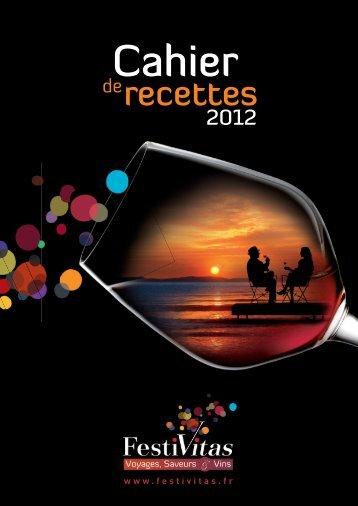 Télécharger le cahier de recettes 2012 - Salon Festivitas, voyages ...
