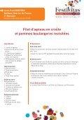 Télécharger le cahier de recettes 2012 - Salon Festivitas, voyages ... - Page 2