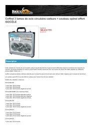 KS OUTILS Remplacement Lame pour cuivre HSS E 200 205.2012