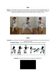 Base Ginga : C'est l'élément de base de la capoeira, c'est le pas de ...
