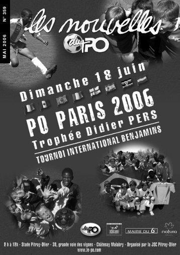 MAI 2006 N° 359 - Jeunesse Sportive et Culturelle Pitray-Olier