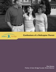 Confessions of a Helicopter Parent - Career Services