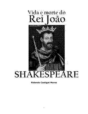 Vida e Morte do Rei João - eBooksBrasil