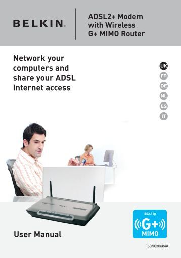 User Manual Network your computers and share ... - Bandit127.com