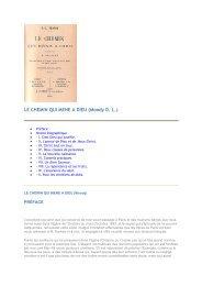 LE CHEMIN QUI MENE A DIEU (Moody D. L.) - 456-Bible