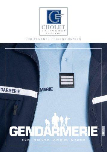 tenues et accessoires gendarmerie - La Compagnie des Uniformes