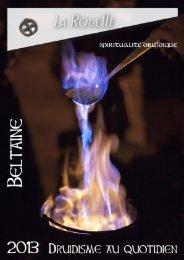 N°20- Beltane 2013 - Assemblée Druidique du Chêne et du Sanglier