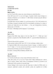 Consulter le catalogue - Bibliothèque et Archives du Château de ...