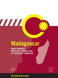 Zones Franches Madagascar - International Labour Organization