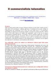 Le verifiche tributarie - parte II : l'esibizione dei documenti fiscali