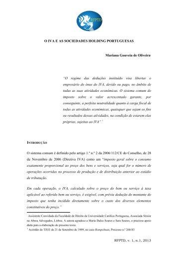 O IVA e as Sociedades Holding Portuguesas - Abreu Advogados