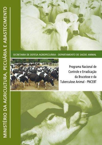 PNCEBT to - Ministério da Agricultura, Pecuária e Abastecimento