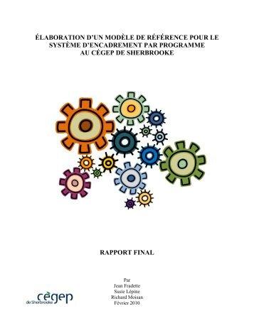 élaboration d'un modèle de référence pour le système d ...