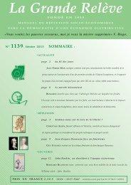 N° 1139 février 2013 - Association pour l'Économie Distributive