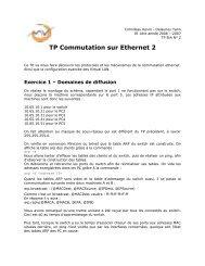 TP Commutation sur Ethernet 2