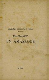 EN AMAZONIE - Manioc