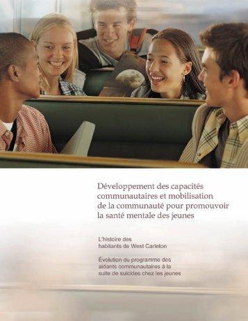 Développement des capacités communautaires et mobilisation de la ...