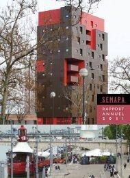 Rapport Annuel 2011 - SEMAPA