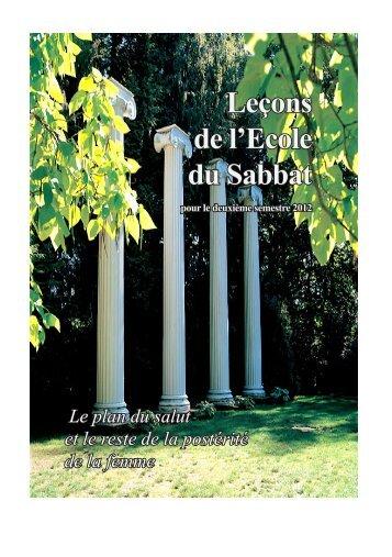 Leçons de l'Ecole du Sabbat - Sda1844.org