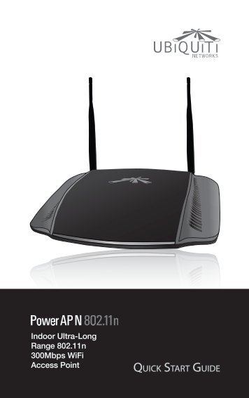 Power AP N Quick Start Guide - Ubiquiti Networks