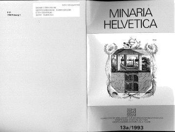MINARIA HELVETICA - SGHB