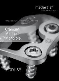 MODUS® cranium Midface Mandible - Surgi-Tec