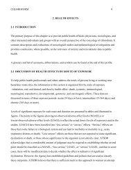 CHLOROFORM 9 2. HEALTH EFFECTS 2.1 ... - ATSDR