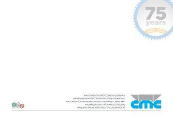 Catalogo Completo 2012.04 - 58p.indd - CMC ITALIA